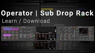 Ableton Tutorial Operator Sub Drop Rack Download