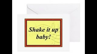 Shake It Up Baby Card Swap Group 1