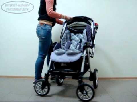 прогулочная коляска mr sandman tour купить - YouTube