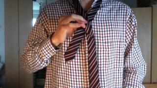 Faire un nœud de cravate - tutoriel cravate