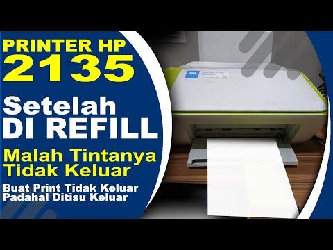 Video berikut ini tutorial cara mengisi tinta printer hp deskjet 2135, pada umumnya semua printer je.