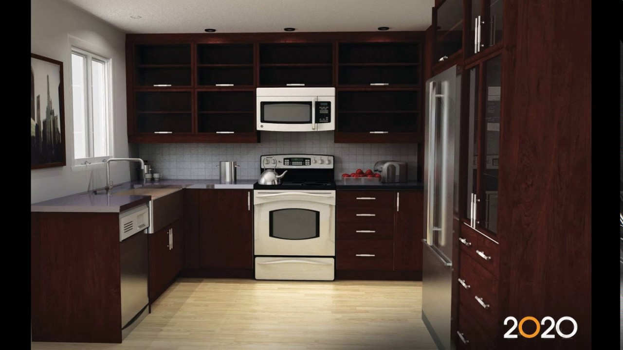 kitchen design 7 x 10  10 x 7 kitchen design - YouTube