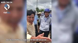 Phó chủ tịch phường Linh Trung quận Thủ Đức cướp đất của dân