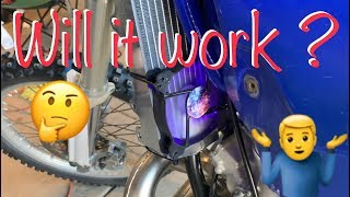 My YZ250 Enduro Build / Will PC Fans Work as Radiator Fans? // DNA Wheels and much more!