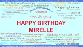Mirelle   Languages Idiomas - Happy Birthday