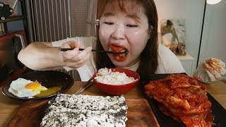 불닭보다 매운 김치 권상순김치 최강매운맛에 밥! 김부각…