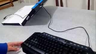 unboxing de teclado gamer nkb 710 noga