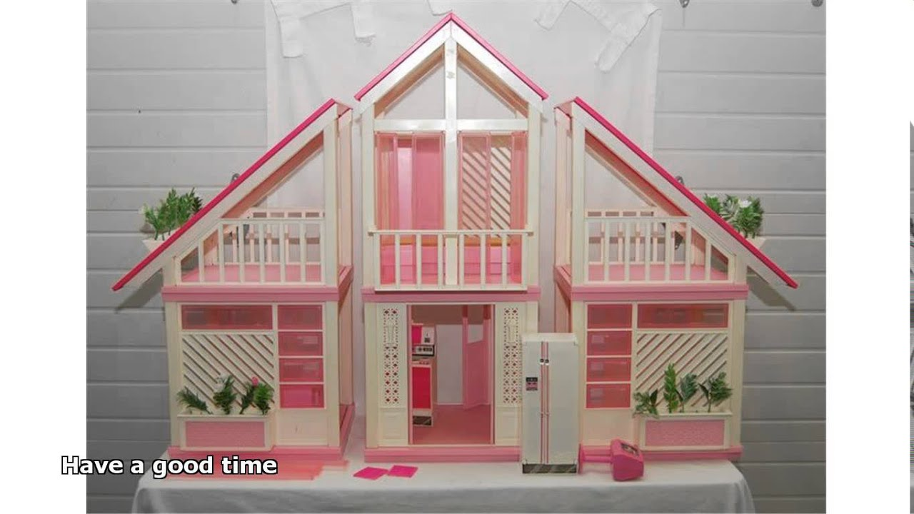 Vintage barbie dream house youtube for Classic 90s house samples