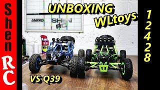 WLTOYS 12428  4WD ROCK BUGGY UNBOXING VS Q39