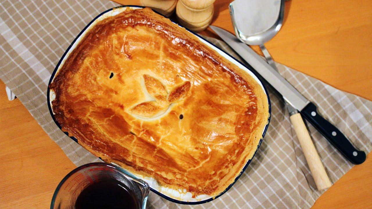 Classic Homemade Steak & Ale Pie | #WinterWarmer - YouTube