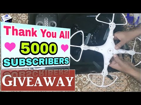 🙏5000 Subscriber |🎁 Sky Drive Drone Giveaway💐Thank You💐