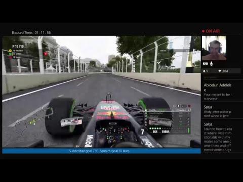 Awesome April Formula 1 2017 Season 4 Azerbaijan Race