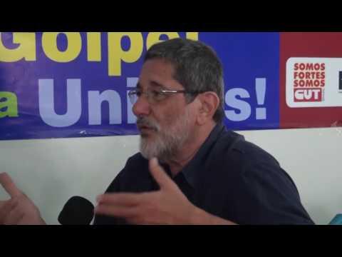 10º Congresso dos Urbanitários de Alagoas - Entrevista Sérgio Gabrielli