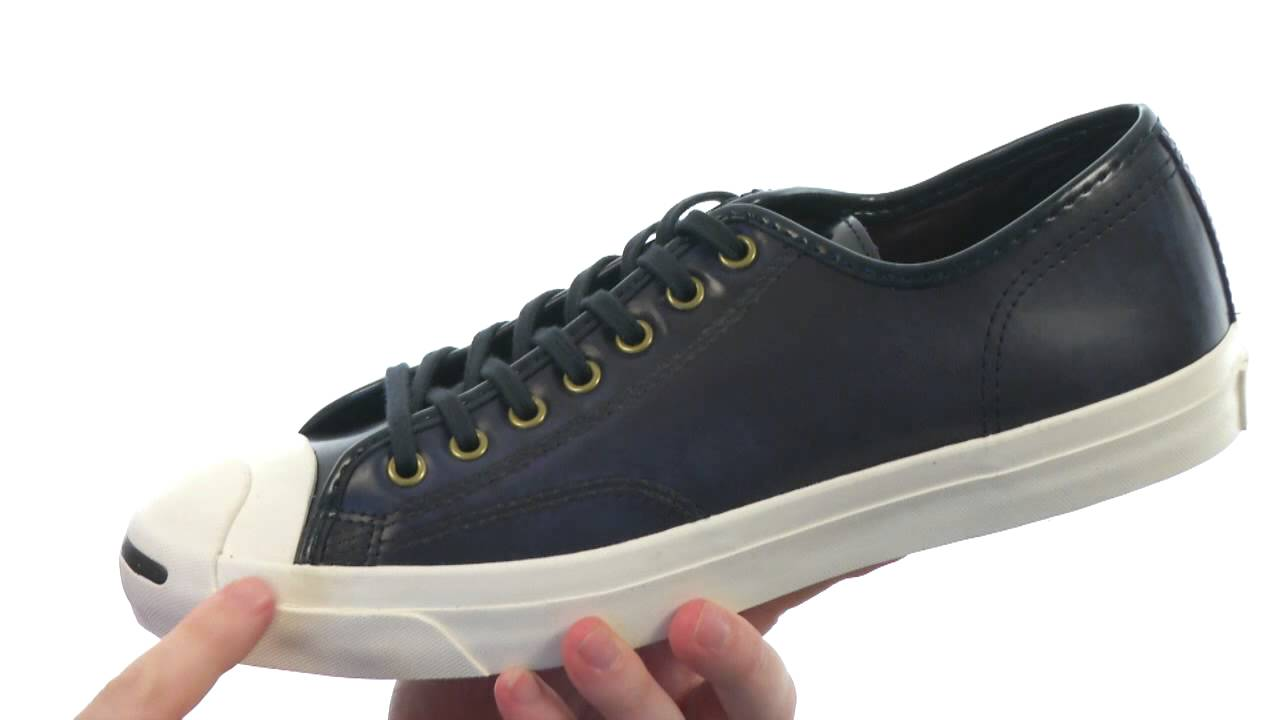 483e7a45db8093 Converse Jack Purcell® Box Leather Jack SKU  8333063 - YouTube