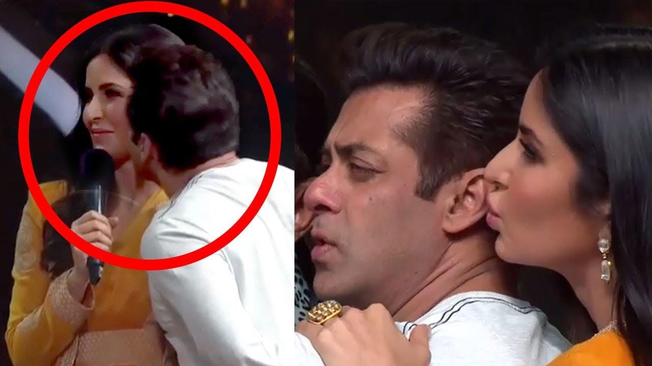 Download Katrina Kaif Kisses Salman Khan On Dance India -5385