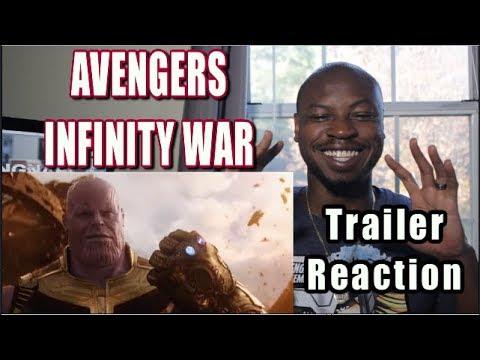 AVENGERS INFINITY WAR Trailer REACTION NEW(2018) Superhero Movie HD
