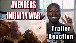 Avengers Infinity War Trailer Reaction 2018 | Marvel Studios |