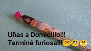UÑAS A DOMICILIO!!! TERMINÉ FURIOSA 😤 STORY TIME thumbnail