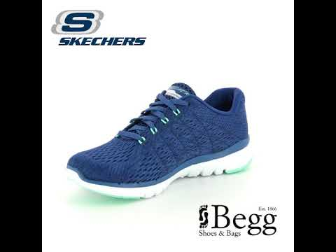 Skechers Flex Appeal 3 13064 NVGR Navy