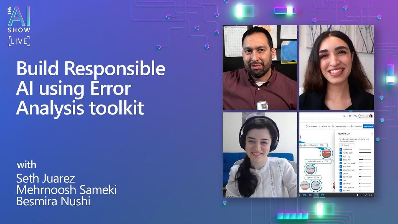 Build Responsible AI using Error Analysis toolkit