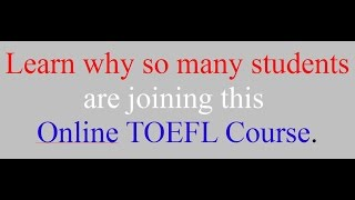 Students complete more TOEFL speaking practice tests on Jan 2, 2017. | The 7-Step System to Pass the TOEFL iBT