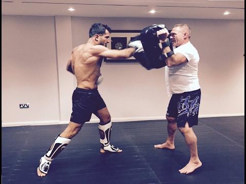 Gegard Mousasi training MMA/UFC