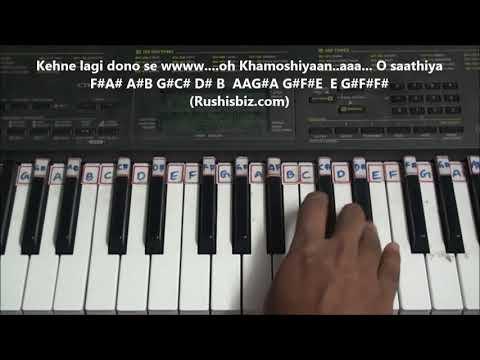 Saathiya -- Dil Bole Oberoi (Ishqbaaz) - Piano Tutorials