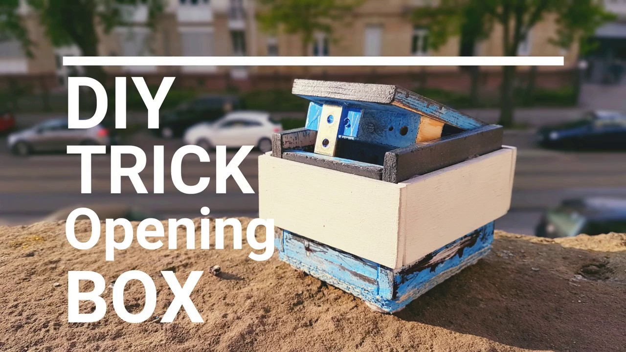 How to build a wooden trick opening box tutorial youtube for Wooden box tutorial