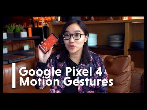 Google Pixel 4: Testing Radar-Powered Gesture Controls