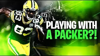 Playing Fortnite with a Green Bay Packer!! (we dominated)