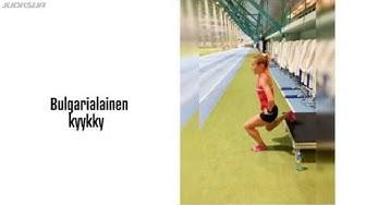 Lihaskuntoa juoksijalle - 10 liikettä