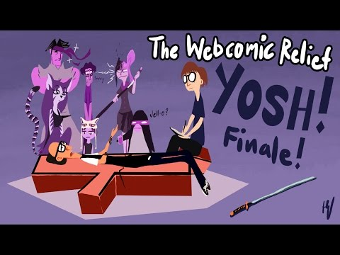 The Webcomic Relief - S4E19: Yosh! (To page 500)