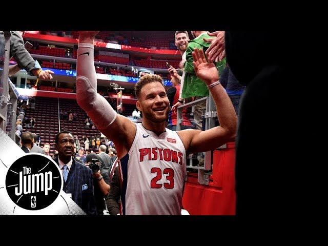 Blake Griffin drops 50 vs 76ers -- are the Pistons for real? | The Jump