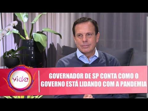 Governador João Dória Conta Como O Governo Está Lidando Com A Pandemia - 15/05/20