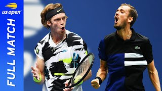 Andrey Rublev vs Daniil Medvedev Full Match | US Open 2020 Quarterfinal