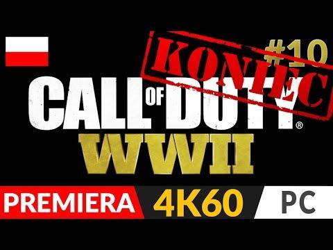 CALL OF DUTY: WW2 PL 🌍 odc.10 10 Koniec gry ✌️ Zakończenie  COD: WWII gameplay po polsku 4K