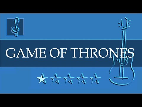 Acoustic Guitar - Game of Thrones - Theme (Sheet music - Guitar chords)