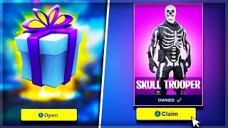 "the NEW ""Skin Gifting System"" in Fortnite.."