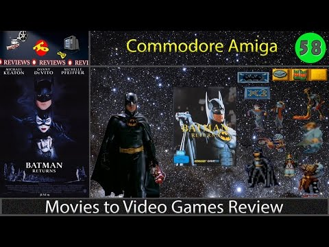 Movies to Video Games Review -- Batman Returns (Amiga)