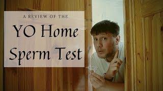 YO Home Sperm Test Review |  Using the YO Sperm Test