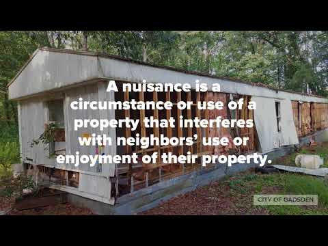 Building Department   Nuisance Abatement