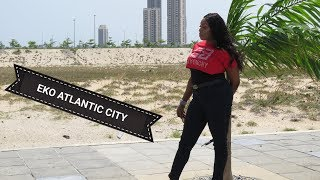 Eko Atlantic city,Lagos Nigeria builds city on water