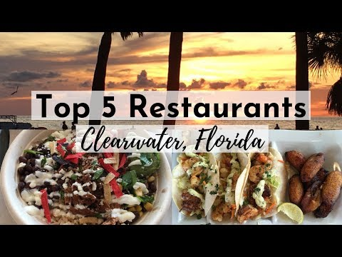 Top 5 Restaurants Clearwater, Florida | Walmart Grocery Delivery Review & Haul