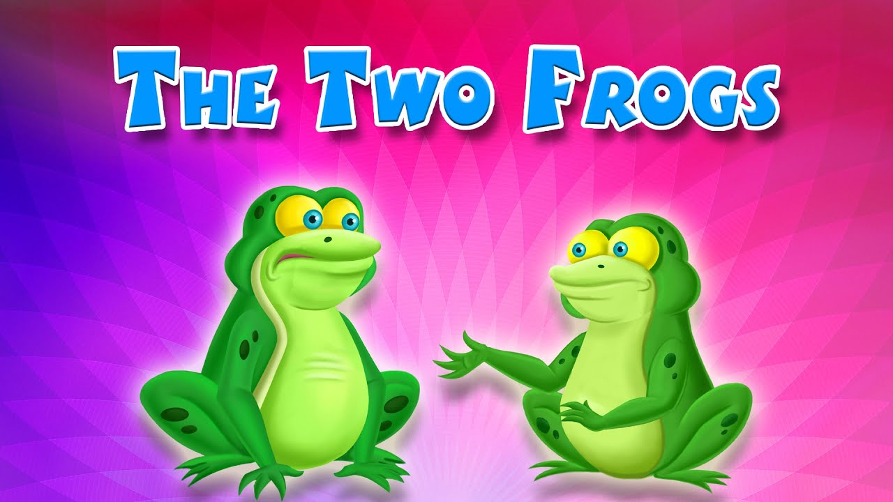 the two frogs english short stories for children kidsone youtube