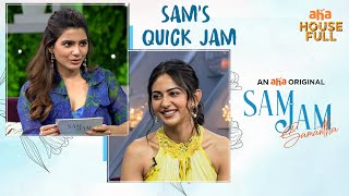 Sam's Quick Jam with Rakul Preet Singh   Sam Jam   Samantha Akkineni   An  AHA Original