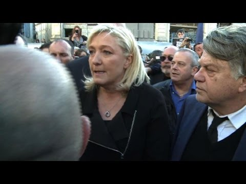 French far-right leader joins rally in southern France