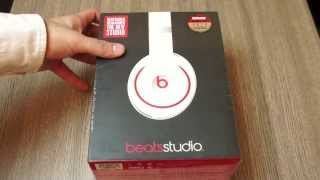 Beats By Dre New Studio Noise Cancelling Headphones Unboxing White : iGyaan