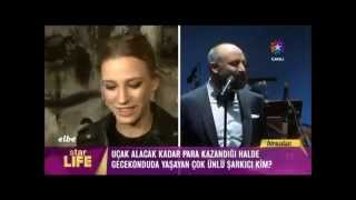 Berguzar Korel and Halit Ergenc at the concert