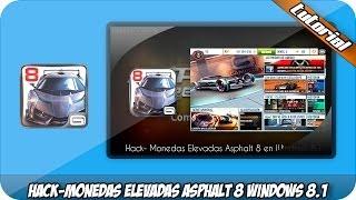 Hack   Monedas Elevadas Asphalt 8 Airborne Windows 8.1