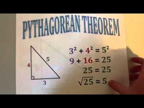The Pythagorean Theorem Song